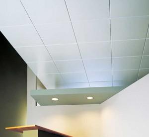 Дизайнерское решение с использованием потолочных плиток