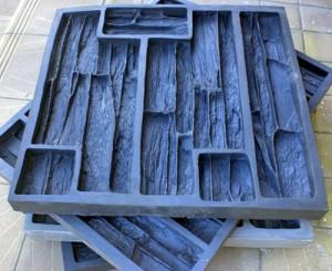 Формы для изготовления плиток