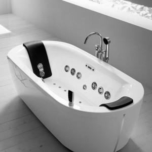 Пример гидромассажной ванны, выполненной из акрила