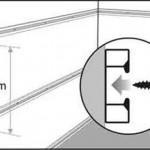 Первый шаг установки панелей - установка креплений