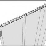 Третий шаг установки панелей - непосредственная установка панелей