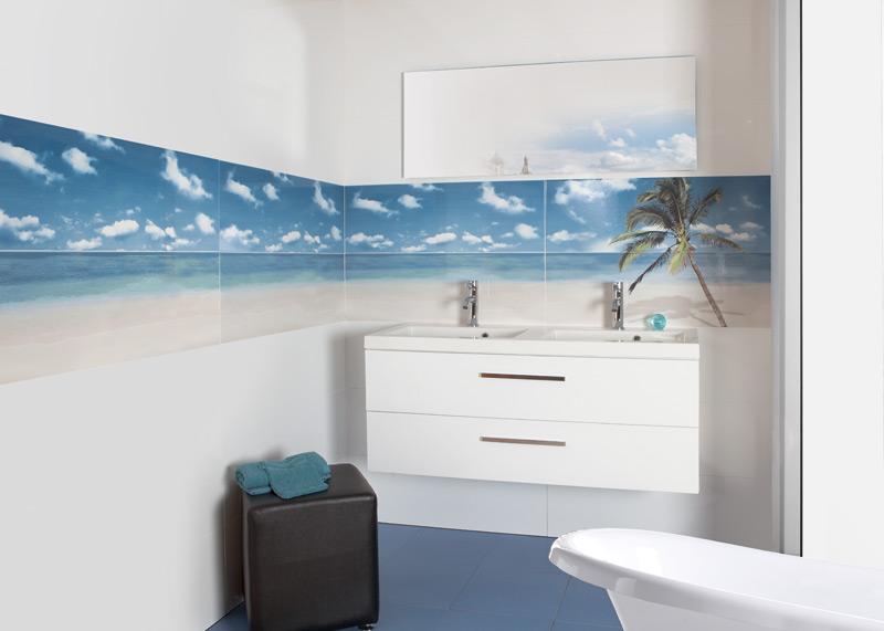 Плитка с дизайном моря 4