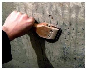 Процедура подготовки помещения к окрашиванию - очистка стен