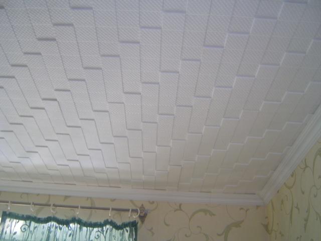 фото плитка потолочная без швов