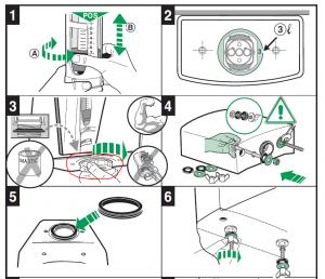 6 шагов установки арматуры и сливного бачка унитаза