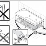 Установка джакузи шаг 2 - монтируем экран, чтобы он был устойчив