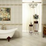 Дизайн ванной с панно 1