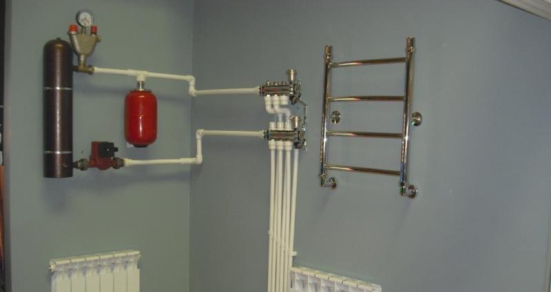 Отопление от водонагревателя своими руками
