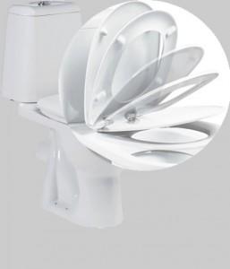 Микролифт обеспечивает плавное опускание крышки сиденья унитаза, вследствие отсутствует стук