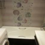 Установка шторки шаг 1 - Очищаем поверхность ванны