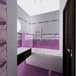 Фотография дизайна ванной комнаты маленьких размеров 4
