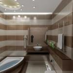 Фотография дизайна ванной комнаты маленьких размеров 5