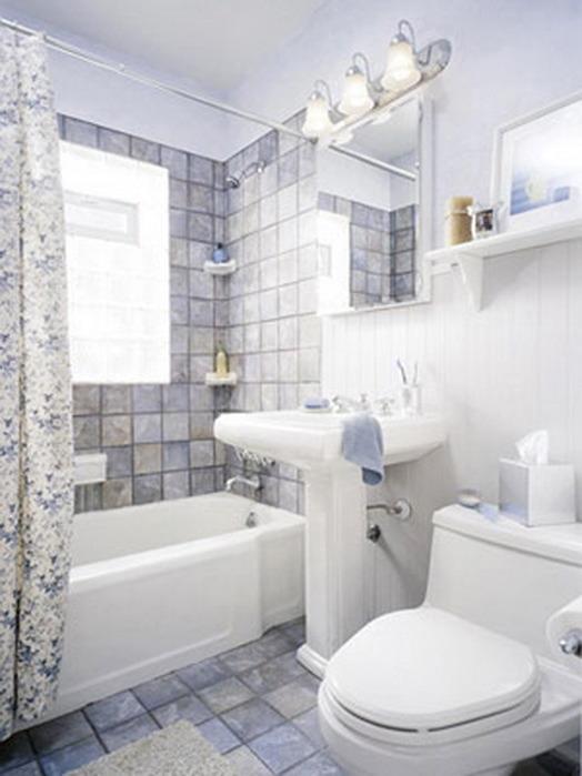 Дизайн ванных комнат для маленьких ванных комнат