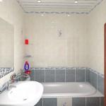 Фото интерьера ванной комнаты 6