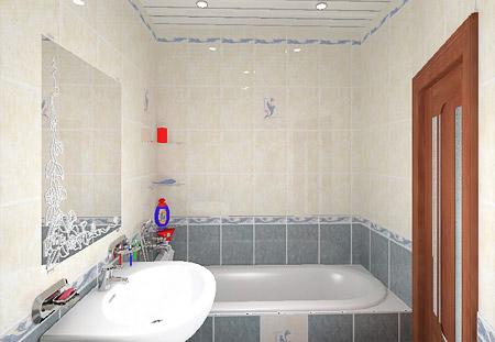 Дизайн ванной комнаты 3 3, 4, 5 и 6 кв.м