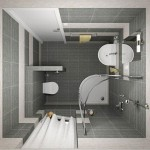 Пример дизайна ванной комнаты 2