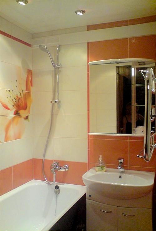 Ванная 3 на 3 дизайн фото