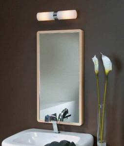Светильники в дизайне ванной