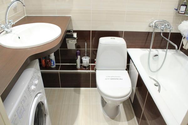 100 лучших идей дизайна: ванная совмещенная Дизайн для совмещенного туалета с ванной