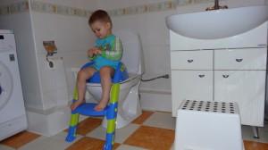 Фото детской накладки в действии