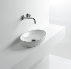 Фото овального умывальника в ванной комнате