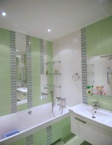 Фото дизайна ванной комнаты, в доме хрущевского типа