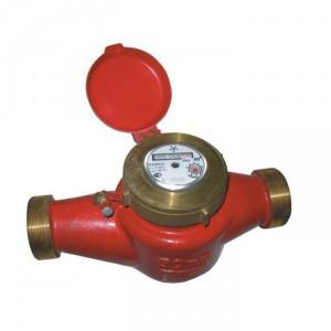 Фотография механического счетчика горячей воды