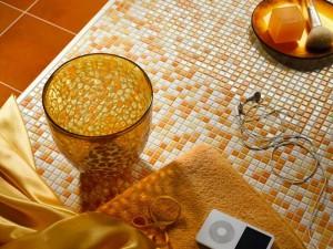 Фотография мозаичной плитки