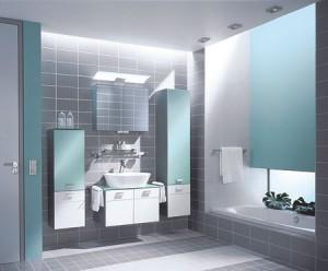 Фото необходимого набора мебели, для комфортного пребывания в ванной комнате