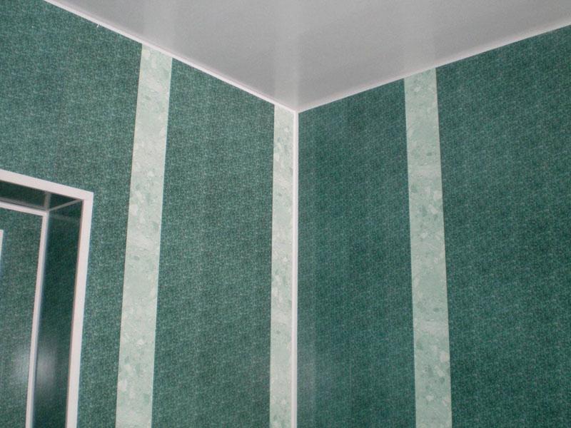 Ванная комната, стены которой были