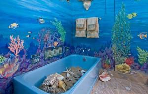 Дизайн ванной комнаты с использованием самоклеющейся пленки