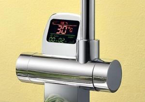 Фотография смесителя с термостатом
