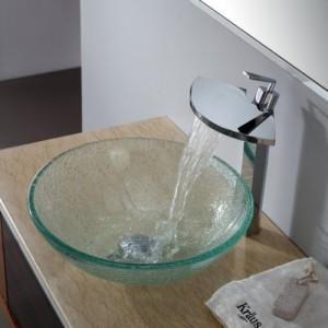 Фото стеклянной раковины