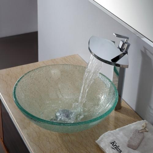 Столешница под стеклянную раковину угловая столешница с раковиной в ванной