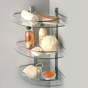 Фото стеклянной стойки для ванной комнаты