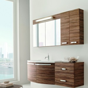 Фотография качественной мебели, которая установлена в ванной