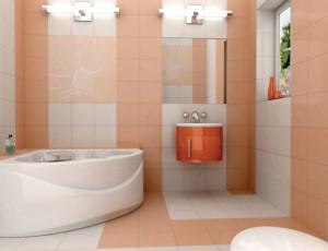 Пример достаточной яркости осветительных приборов в ванной комнате