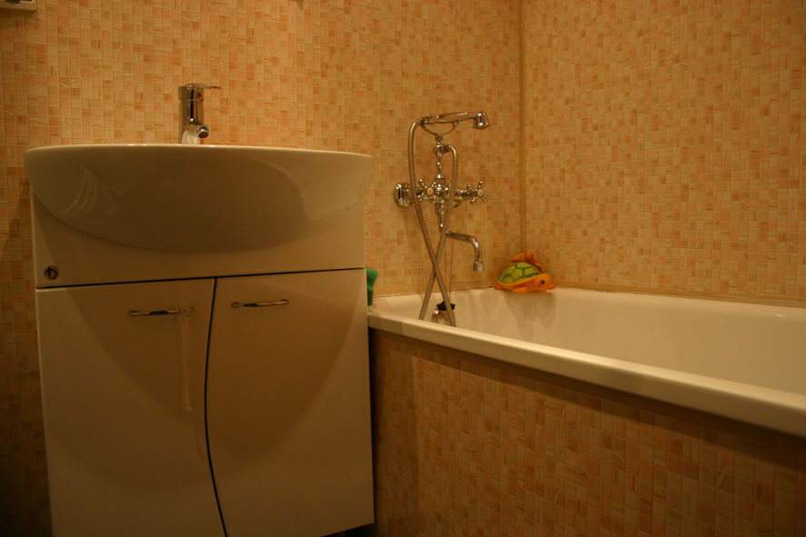 Ванная панелями пвх своими руками