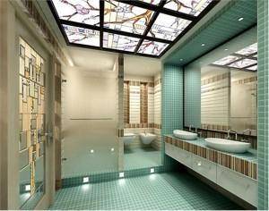 Фото ванной комнаты после отделки стен, полов и потолка