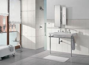 Фото дизайна ванной в белом цвете