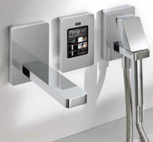 Фото электронного смесителя