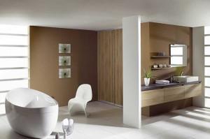 Фото естественного освещения ванной комнаты