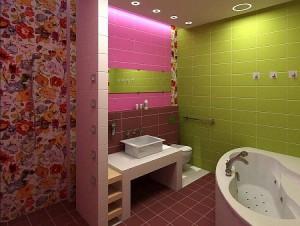 Интерьер ванной маленького размера