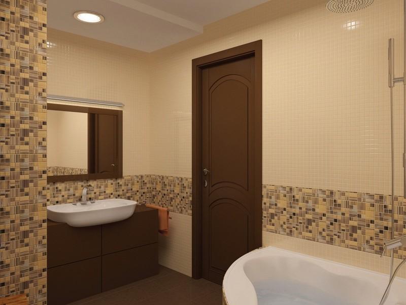 мозаики в ванной комнате