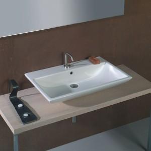 Фото удачно подобранной раковины в ванную