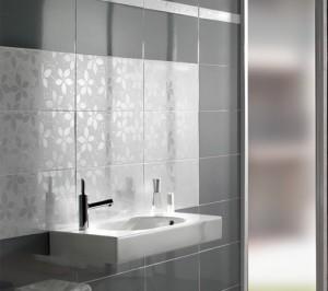Фото дизайна ванной комнаты в сером цвете