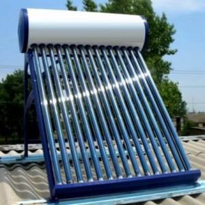 Фото солнечного водонагревателя