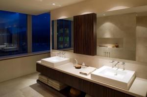 Ванная в минималистичном стиле