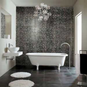 Виниловая плитка в дизайне ванной комнаты