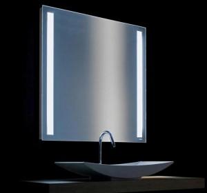 Фото внутренней подсветки зеркала